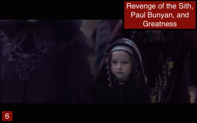 Girl at Padme's Funeral